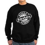 Boston Wicked Strong Sweatshirt (dark)