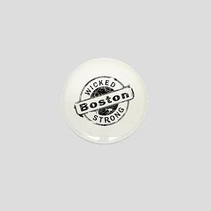 Boston Wicked Strong Mini Button