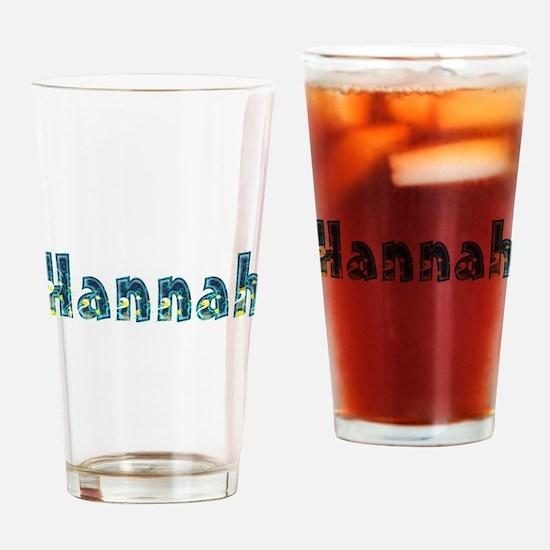 Hannah Under Sea Drinking Glass