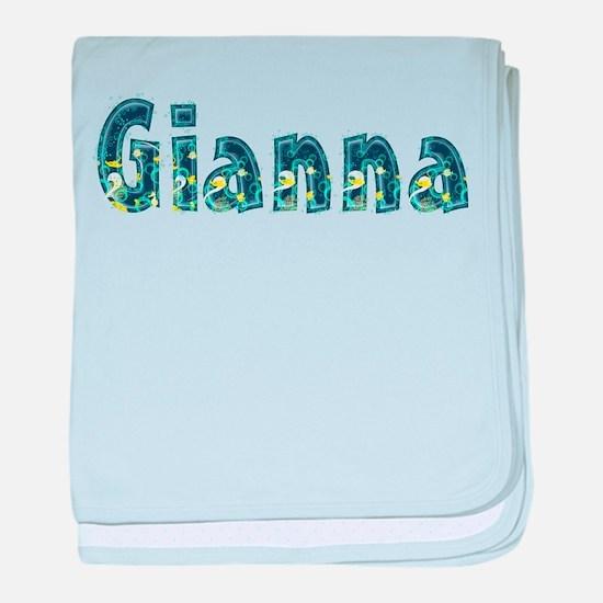 Gianna Under Sea baby blanket
