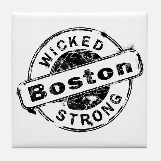 Boston Wicked Strong Tile Coaster
