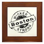 Boston Wicked Strong Framed Tile
