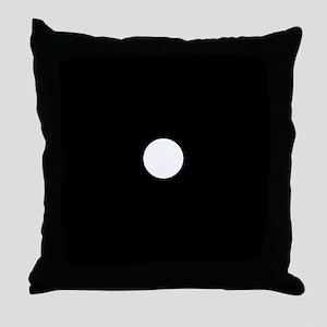 Black Dice 1 Throw Pillow