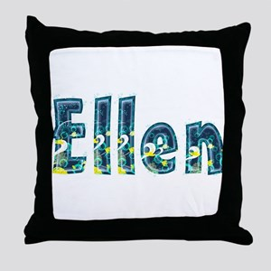 Ellen Under Sea Throw Pillow