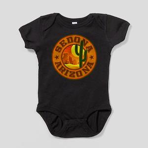 Sedona Desert Circle Baby Bodysuit