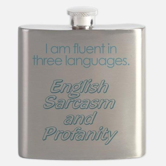 English, Sarcasm and Profanity Flask