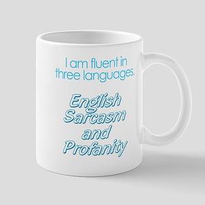 English, Sarcasm and Profanity Mug