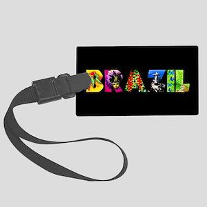 Brazil Large Luggage Tag