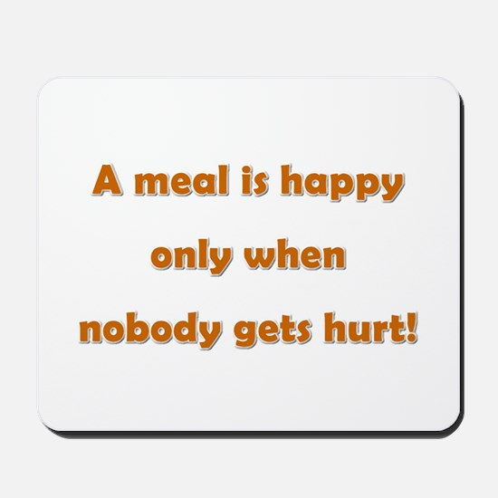 Happy meal Mousepad