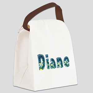 Diane Under Sea Canvas Lunch Bag