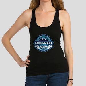 Andermatt Logo Ice Racerback Tank Top