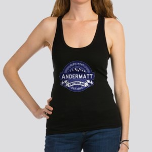 Andermatt Logo Midnight Racerback Tank Top