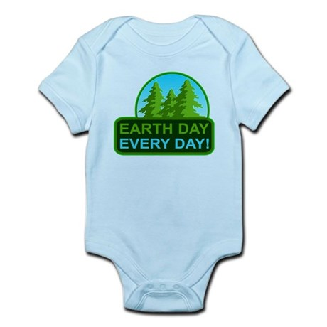 Earth Day Everyday Body Suit