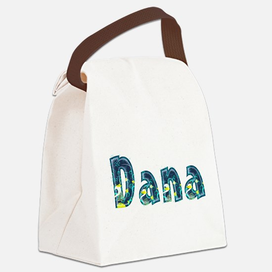 Dana Under Sea Canvas Lunch Bag