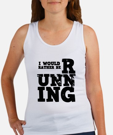 'Rather Be Running' Women's Tank Top