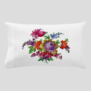 Dresden Flowers Pillow Case