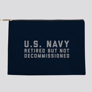 US Navy Retired Not Decommissioned Makeup Pouch