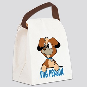 Dog Person Canvas Lunch Bag