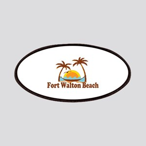Fort Walton Beach - Palm Trees Design Patches