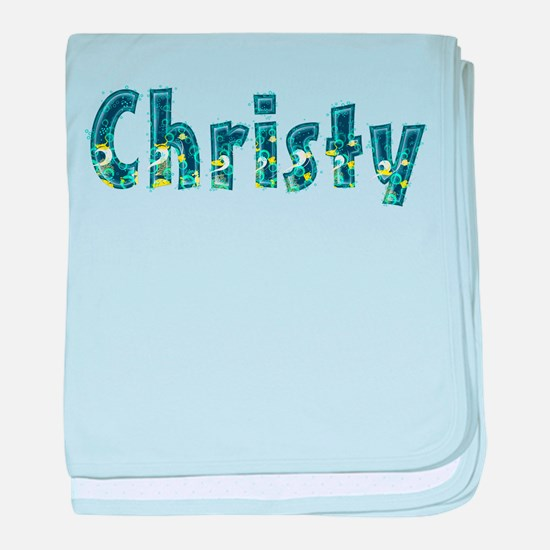 Christy Under Sea baby blanket
