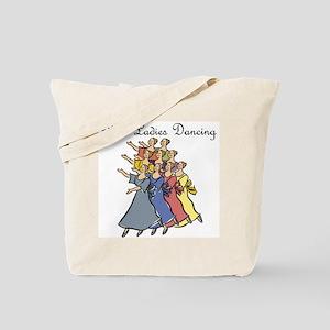 Ninth Day of Christmas Tote Bag