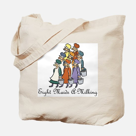 Eighth Day of Christmas Tote Bag