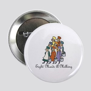 Eighth Day of Christmas Button