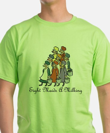 Eighth Day of Christmas T-Shirt