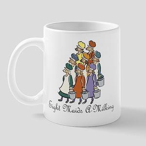 Eighth Day of Christmas Mug