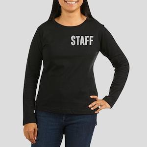 Fake News Network Women's Long Sleeve Dark T-Shirt