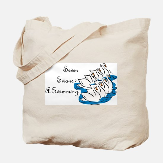 Seventh Day of Christmas Tote Bag