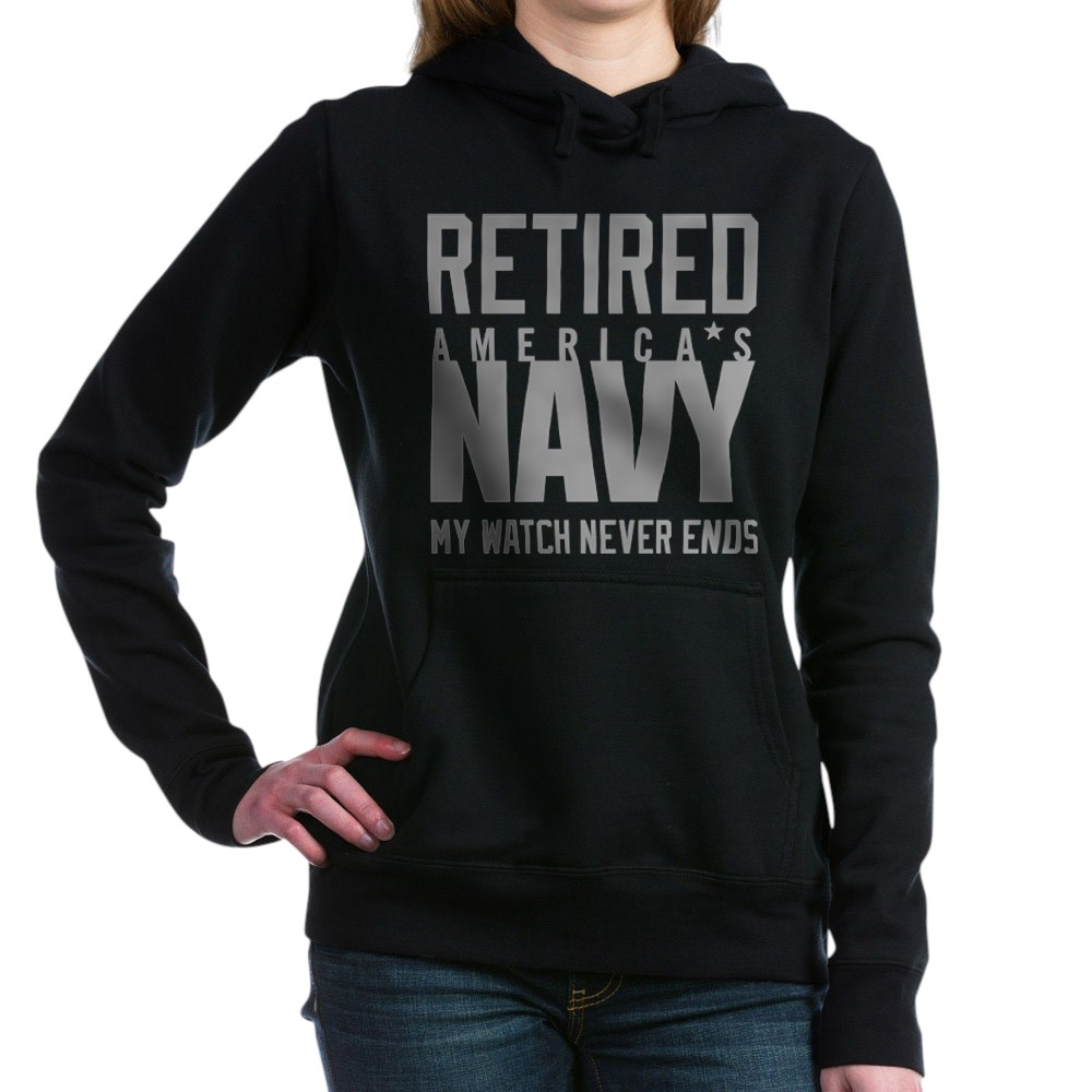 CafePress-US-Navy-Retired-Not-Deco-Pullover-Hoodie-84085900 thumbnail 3