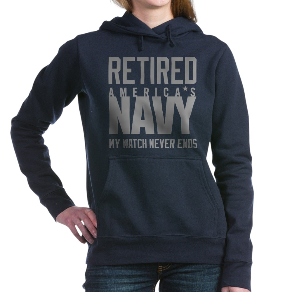 CafePress-US-Navy-Retired-Not-Deco-Pullover-Hoodie-84085900 thumbnail 25