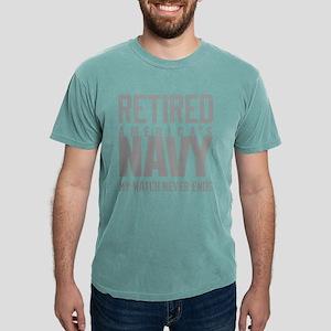 US Navy Retired Not Deco Mens Comfort Colors Shirt