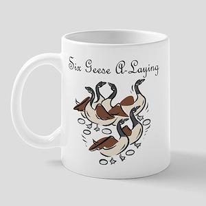 Sixth Day of Christmas Mug
