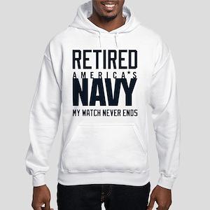 US Navy Retired Not Decommission Hooded Sweatshirt