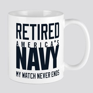 US Navy Retired Not Decommission 11 oz Ceramic Mug