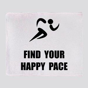 Happy Pace Throw Blanket