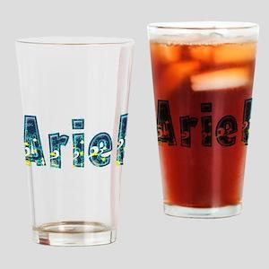 Ariel Under Sea Drinking Glass