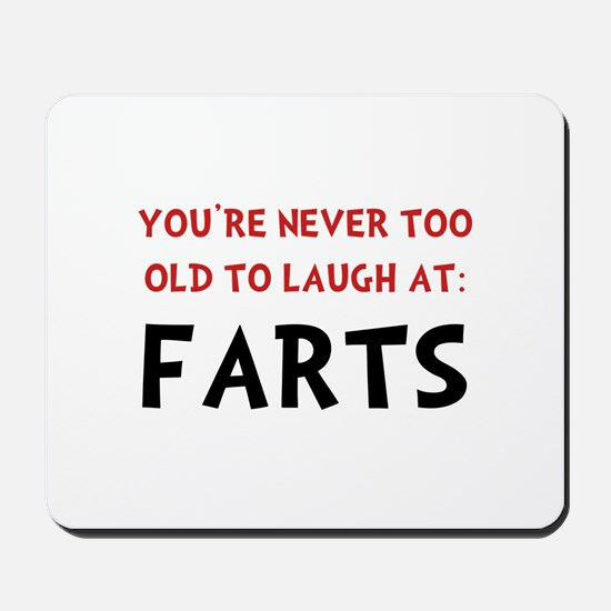 Laugh Farts Mousepad