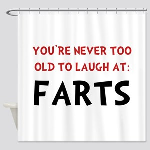 Laugh Farts Shower Curtain