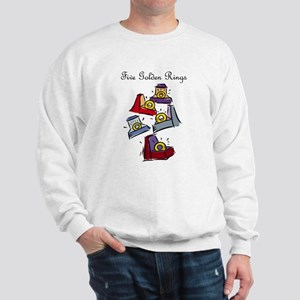 Fifth Day of Christmas Sweatshirt
