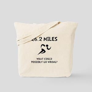 Marathon Go Wrong Tote Bag