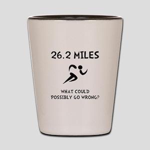 Marathon Go Wrong Shot Glass