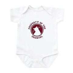 Oriental Infant Bodysuit