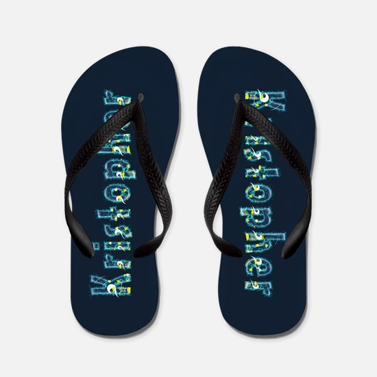 Kristopher Under Sea Flip Flops