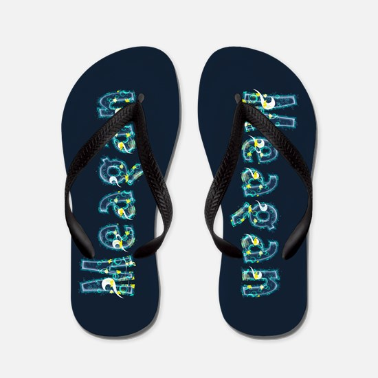 Meagan Under Sea Flip Flops