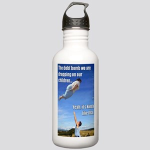 Debt Bomb Water Bottle