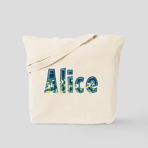 Alice Under Sea Tote Bag