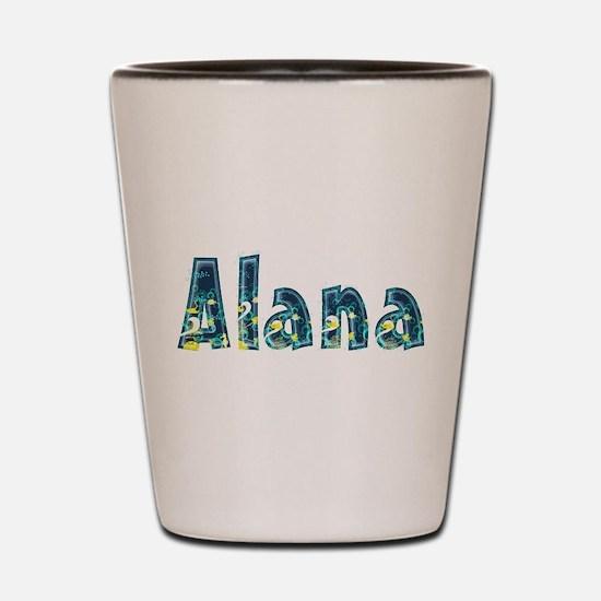 Alana Under Sea Shot Glass